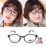Spesifikasi Kacamata Vasckashop Carin 03 Oval Black Terbaru