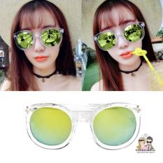 Review Kacamata Vasckashop Claire Transparant Green Terbaru