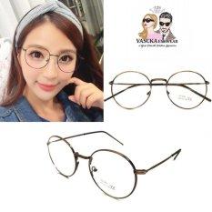 Jual Kacamata Vasckashop Jasmine Eyeglasses Brown Original