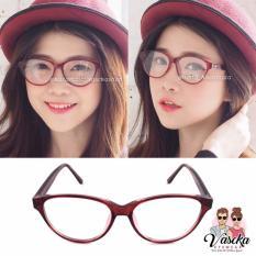 Spesifikasi Kacamata Vasckashop Spade 03 Maroon Dan Harganya