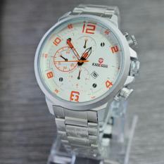 Kademan 6098 - Jam tangan Pria - Stainless steal - Analog - Chrono Off (variasi) Murmer