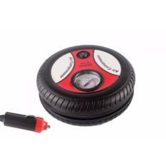 Kado Unik-- Pompa Ban Bentuk Ban Mobil Portabel 12V Air Compressor / Pompa Ban Mobil / Pompa Ban Listrik Portable / Pompa Elektrik Air Compressor Angin Mini Portable 12V