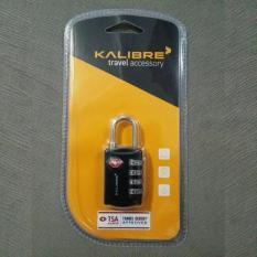 Kalibre Gembok TSA Lock Numeric Numerik 4 Digit Angka Koper Luggage Travel Accessory Aksesoris Hita