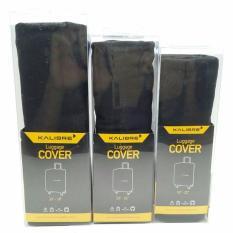 Harga Kalibre Luggage Cover Size L Sarung Koper Kain Pelindung Koper Hitam 994063 999 Seken