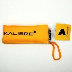 Kalibre Payung Lipat Traveller Umbrella Diameter 100 Cm Hujan Waterproof Anti Air Anti UV 995035-770 - Kuning