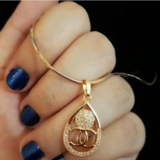 Kalung Chanelll Gold xuping cantik