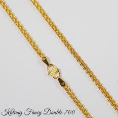 Kalung Emas Asli Kadar 700 Fancy Double 2.9 Gram