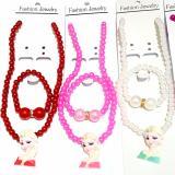 Cuci Gudang Kalung Gelang Fashion Anak Isi 4 Kalung Mutiara Imitasi Aksesoris Fashion Trendy Untuk Anak Wanita