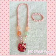 Kalung Hello Kitty C566 Peach