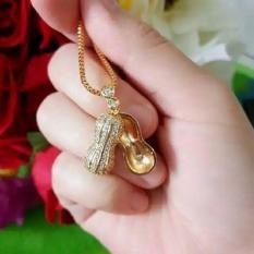 kalung kacang unik xuping gold