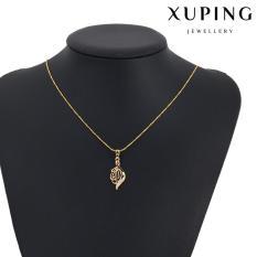 Promo Kalung Korea Xuping Berliontin Gold R02 Emas 18K