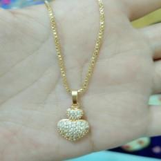 Ulasan Kalung Love Gold Xuping Cantik