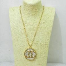 Kalung Panjang Kalung Chanel Murah Kalung Hijab Necklace Kalung Pesta Murah N07433
