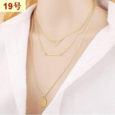 [PROMO] Kalung Rantai Import Korea Lapis Emas Perhiasan Imitasi LYS42