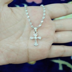 Kalung Salib Imut Silver Cantik Xuping Xuping Jewelry Diskon 30
