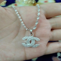 Review Terbaik Kalung Silver Lilit Cantik Xuping Chanelll