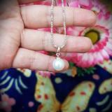 Jual Kalung Silver Gold Mutiara Cantik Xuping Xuping Jewelry Di Banten