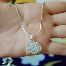 Toko Jual Kalung Silver Permata Cantik Xuping