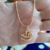 Kalung Tulisan Arab Gold Xuping Cantik Original
