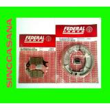 Jual Kampas Rem Depan Belakang Beat Lama Carburator Federal Parts Original