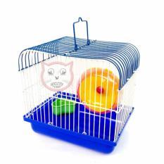 Beli Kandang Hamster 01 Biru Segitu Petshop