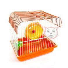 Kandang Hamster 01 - ORANGE