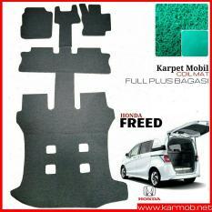 Karmob Karpet Mobil / Karpet Mobil Mie / Karpet Bihun / Karpet Dasar / Karpet Karet Mobil / Karpet Lantai Mobil / Coil Mat Honda Freed - Full Plus Bagasi