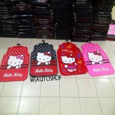 Karpet Alas Kaki Mobil Hello Kitty