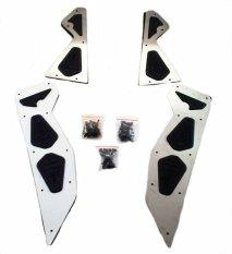 Karpet Bordes Floorboard Xtreme Nmax Stainless Steel N-Max X-Treme Pijakan Kaki