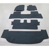 Promo Karpet Karet Grand Livina Hitam Full Set