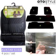 Karpet Karet Lantai Mobil PACKYPODA / AVATAR 4 Pcs (Untuk Se