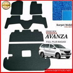 Karpet Mobil Avanza Grand New Plus Bagasi - Warna Biru