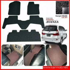Karpet Mobil Avanza Grand New Tanpa Bagasi - Warna Hitam