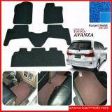 Harga Karpet Mobil Avanza Grand New Tanpa Bagasi Warna Biru Termurah