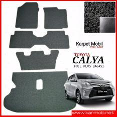 Jual Karpet Mobil Calya Full Plus Bagasi Warna Hitam Karmob Di Jawa Timur