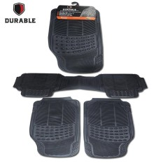 Karpet Mobil Durable PVC 3 PCS Beige For DAIHATSU GRAND MAX