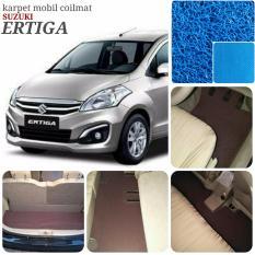 Karpet Mobil Ertiga Full Plus Bagasi - Warna Biru