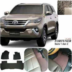 Karpet Mobil Fortuner All New Baris 1,2 - Warna Coklat
