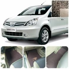 Jual Karpet Mobil Grand Livina Baris 1 2 Warna Coklat Online
