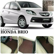 Spesifikasi Karpet Mobil Honda Brio Warna Coklat Terbaru