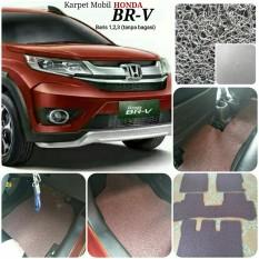 Karpet Mobil Honda BRV baris 1,2 - Warna Abu Abu