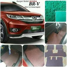Karpet Mobil Honda BRV Full Tanpa Bagasi - Warna Hijau