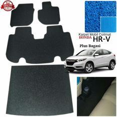 Karpet Mobil Honda HRV Plus Bagasi - Warna Biru