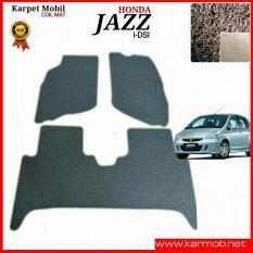 Karpet Mobil Honda Jazz IDSI - Warna Coklat