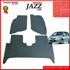 Karpet Mobil Honda Jazz IDSI - Warna Merah