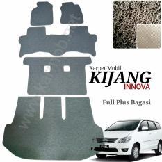 Karpet Mobil Innova Full Plus Bagasi - Warna Coklat