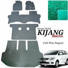 Karpet Mobil Innova Full Plus Bagasi - Warna Hijau
