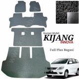 Promo Karpet Mobil Innova Full Plus Bagasi Warna Hitam Jawa Timur