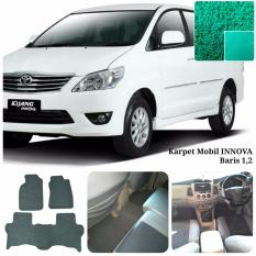 Karpet Mobil Innova Grand New baris 1,2 - Warna Hijau