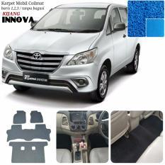 Karpet Mobil Innova Grand New Full Tanpa Bagasi - Warna Biru